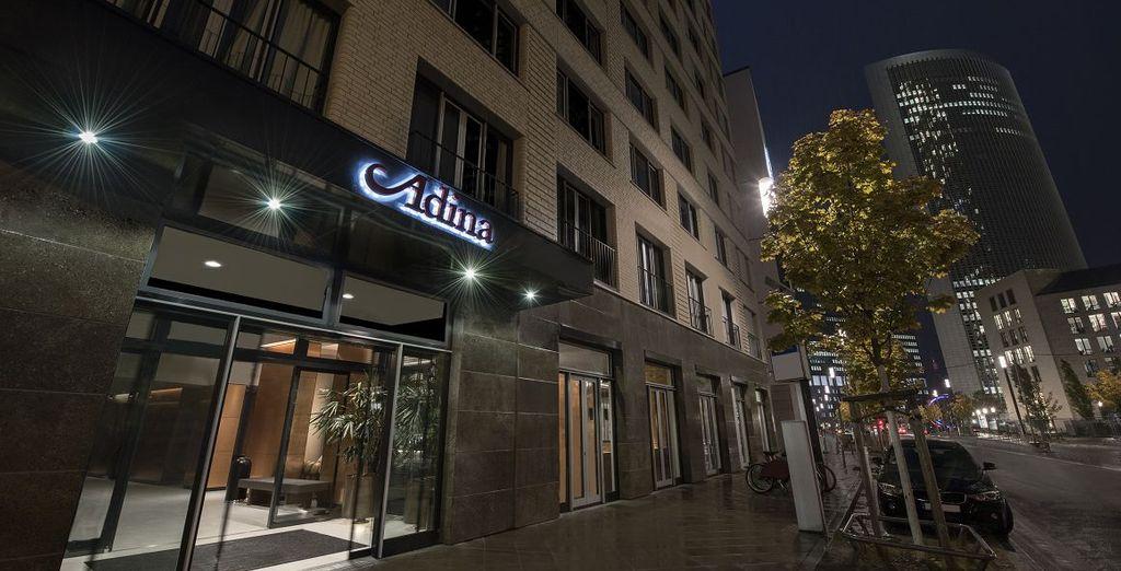 Adina Apartment Hotel Frankfurt Westend in Frankfurt mit Voyage Privé