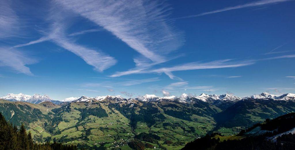 In Kitzbühel ins Freie gehen