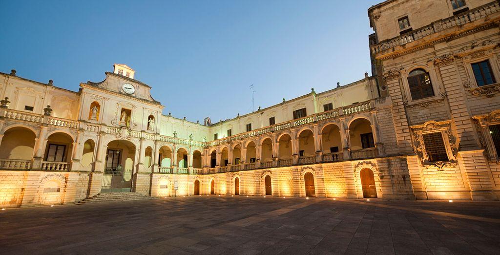 Besichtigen Sie die beeindruckende barrocke Stadt Lecce