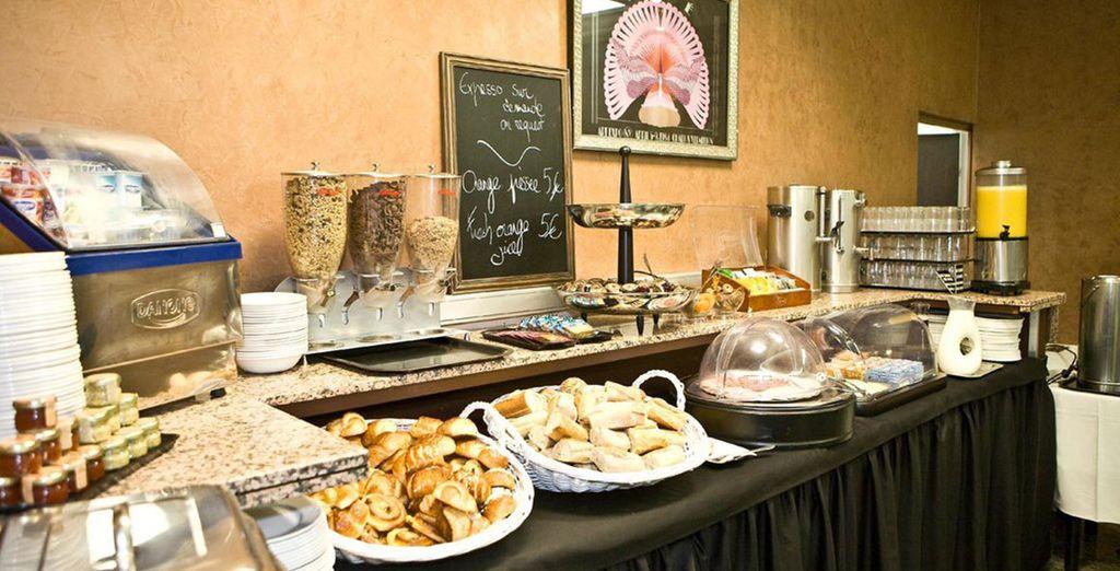 Sie werden jeden Tag Ihres Aufenthaltes ein reichhaltiges Frühstück genießen können