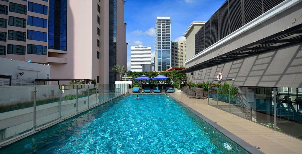 Wo Sie im Hotel Well Bangkok Sukhumvit 20 in einem modernen Viertel übernachten