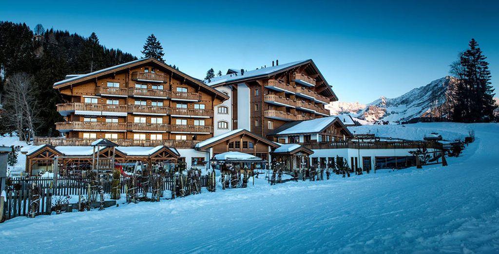 Ein preisgekröntes Spa Resort in den schweizer Alpen