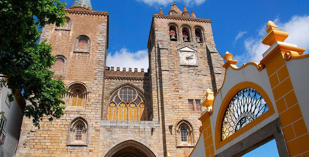 ... oder die Kathedrale von Évora