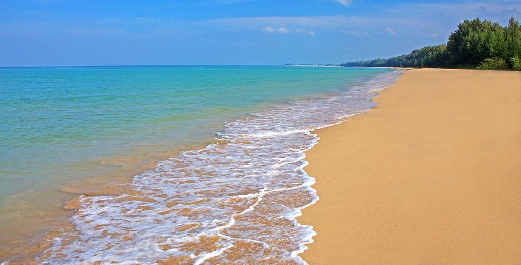 Ihr Resort liegt direkt am Strand