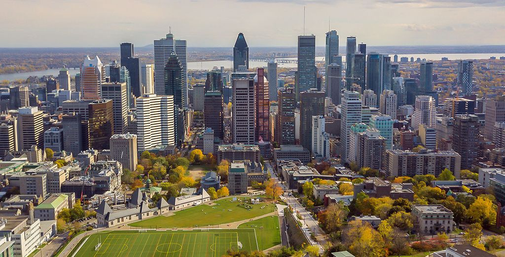 Marriott Chateaux Champlain Montreal 4* & Optionaler Stopover in New York