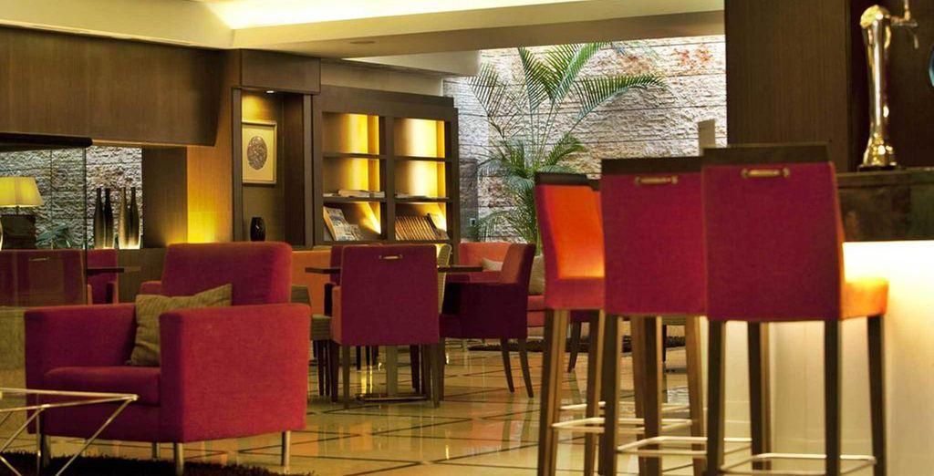 Checken Sie im eleganten Turim Iberia Hotel ein