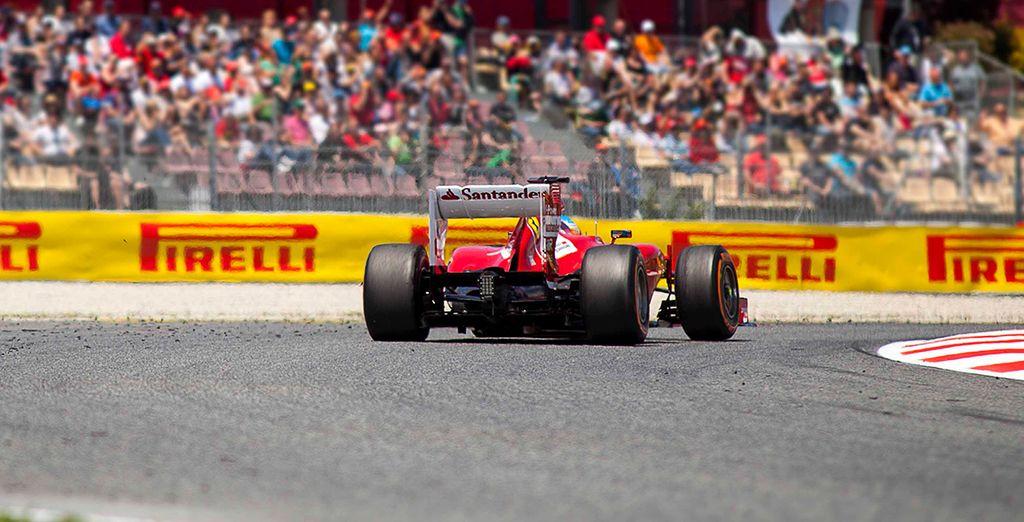 Sehen Sie sich die fünfte Runde der Formel 1-Weltmeisterschaft aus nächster Nähe an