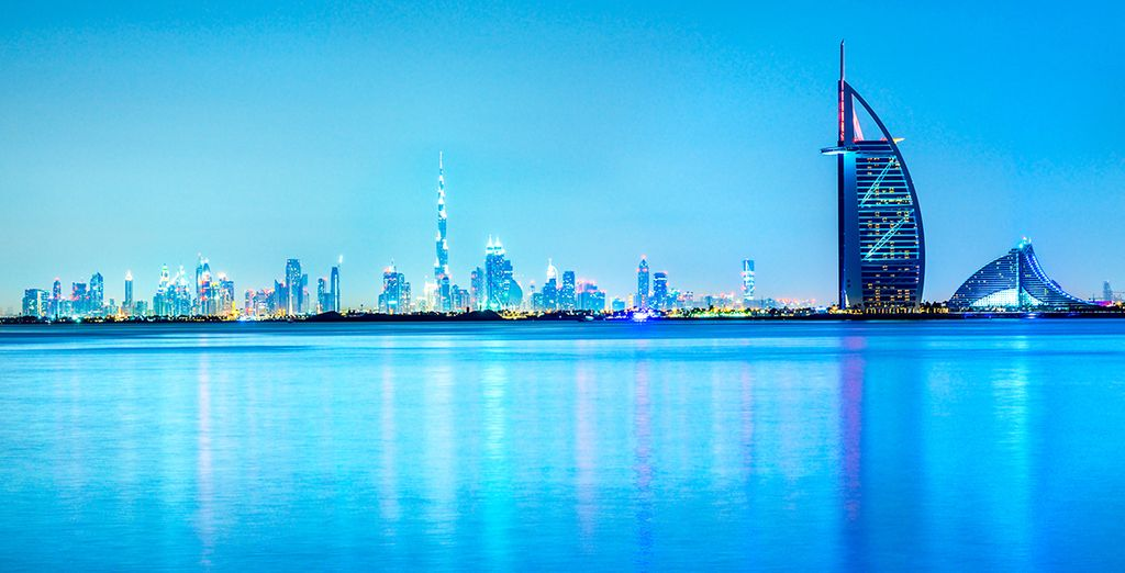 Willkommen in Dubai...