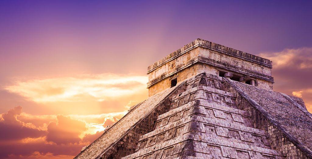 Entdecken Sie die einzigartigen Maya-Ruinen...