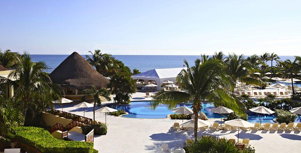 Entspannen Sie sich in diesem riesigen Luxus Resort