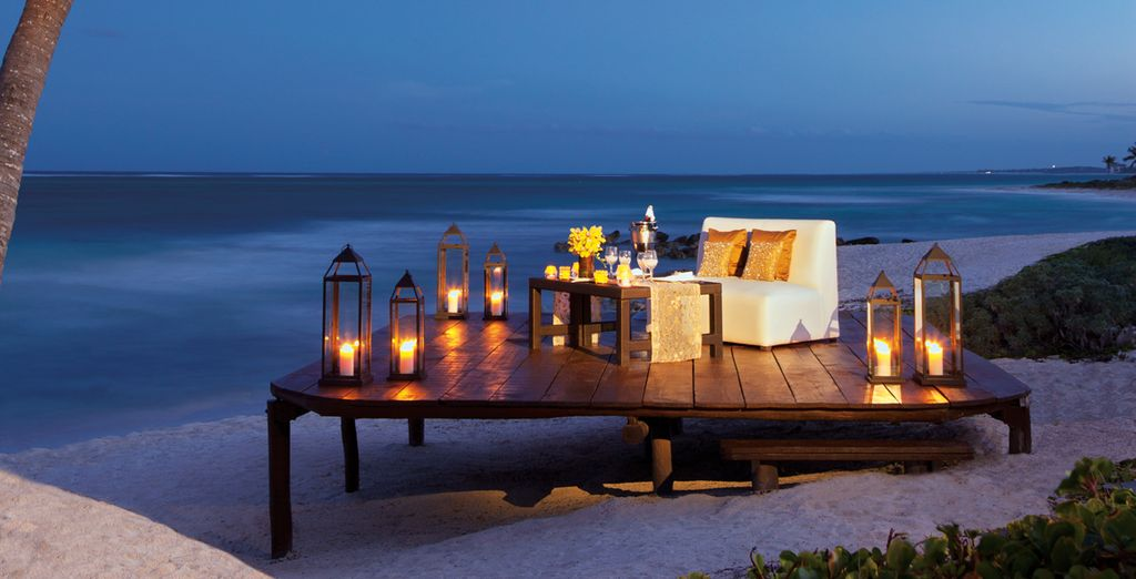 Genießen Sie romantische Momente am Strand