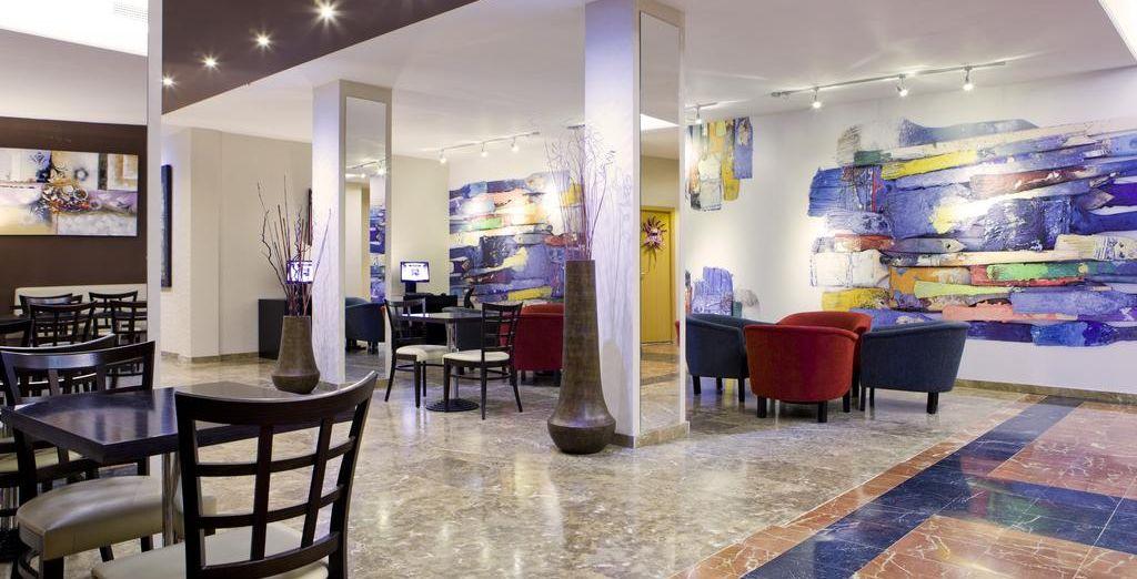 Ein modernes und freundliches Hotel