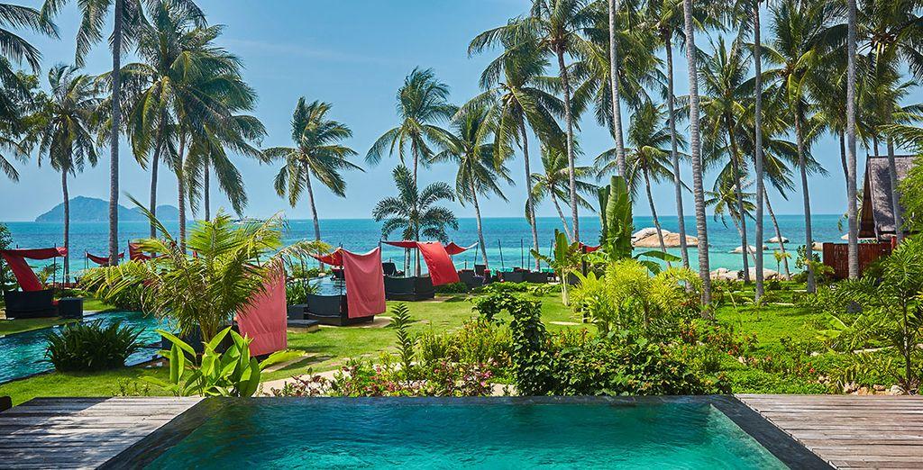 Willkommen im Kupu Kupu Beach Villas & Spa 5*