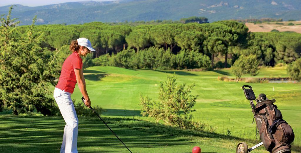 ein nahe gelegener Golfplatz steht Ihnen zur Verfügung