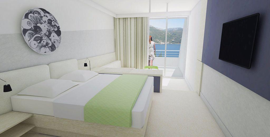 Ihr Zimmer hat Meerblick