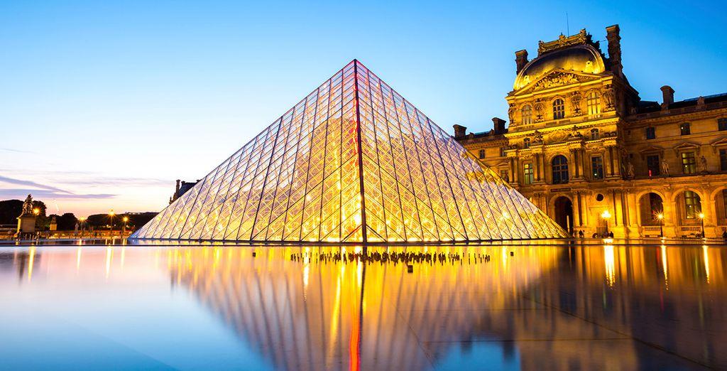 Und das Louvre!