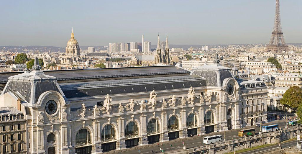 Besuchen Sie zahlreiche nahe gelegene Sehenswürdigkeiten, wie das Musee D'Orsay...