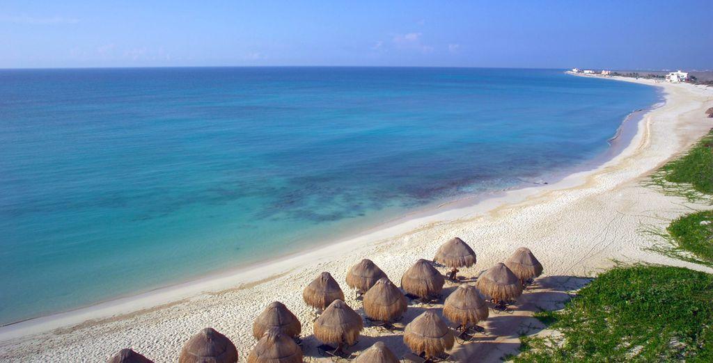 Relaxen Sie am privaten Strand