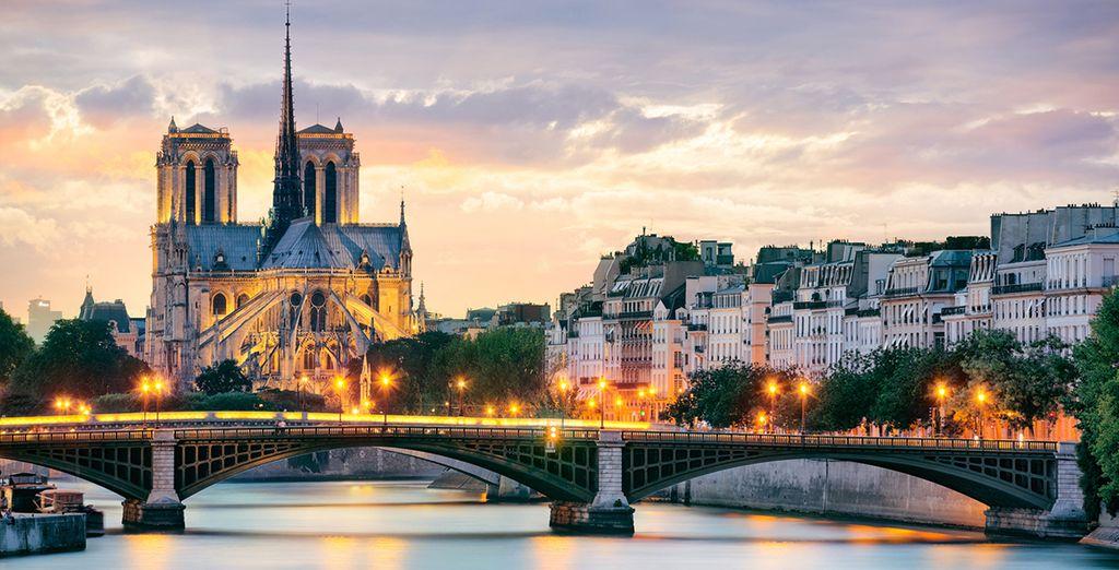 In der Nähe des Eiffelturms