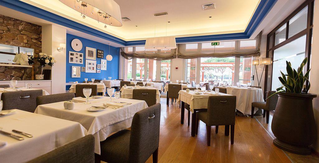Köstlichkeiten erwarten Sie im Rocca Restaurant