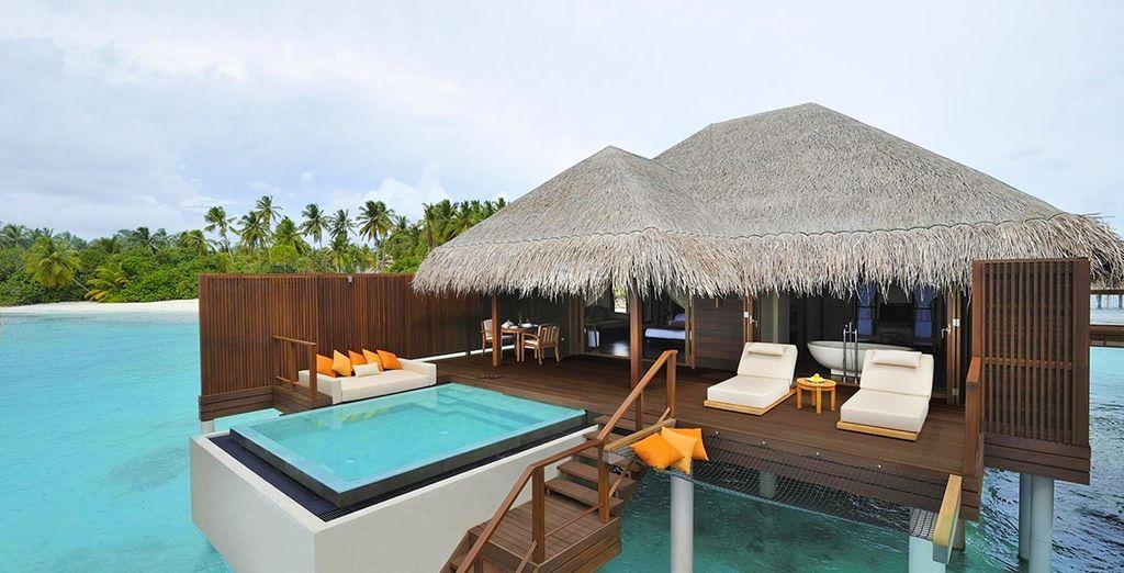 Beziehen Sie eine Ocean Villa!