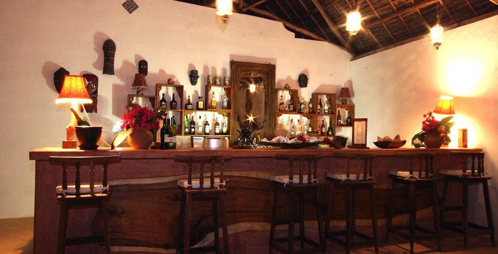 Ein erfrischender Cocktail an der Bar