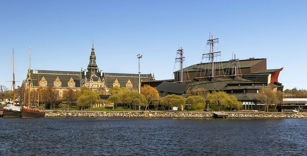 Besichtigen Sie Sehenswürdigkeiten wie das Vasa Museum