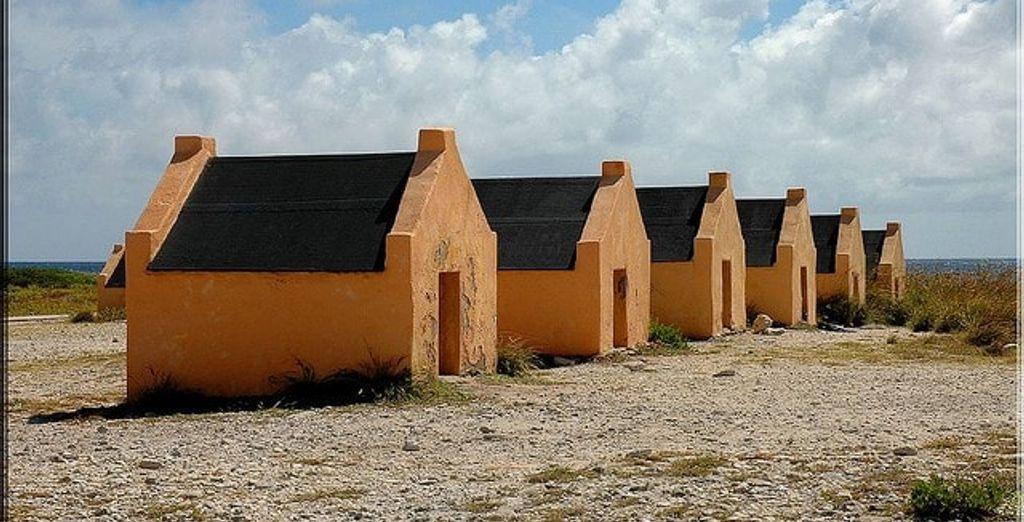 Die alten Sklavenhütten