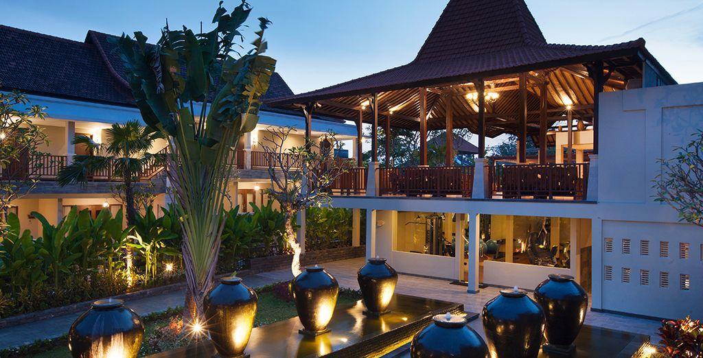 Sie wohnen entweder im Best Western Premier Agung Resort 4*...