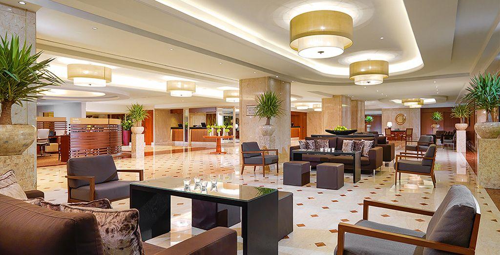 Das Hotel bietet einen grossen Komfort
