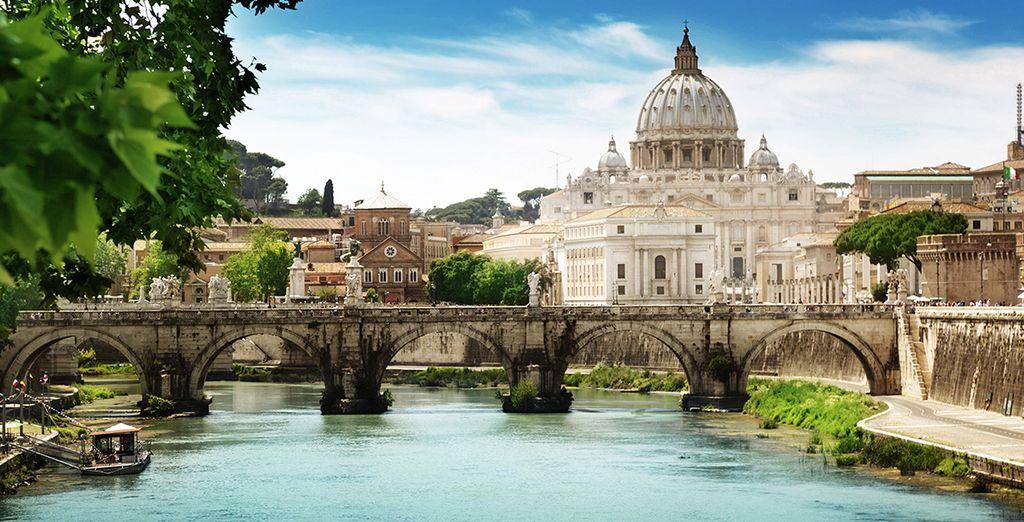 Und erkunden Sie Rom