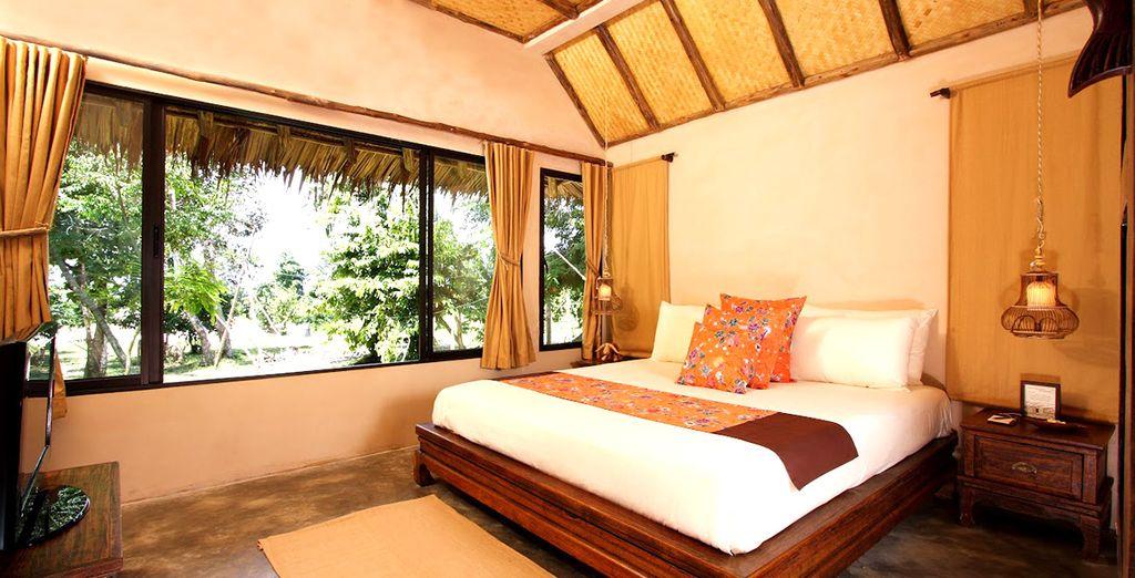 Genießen Sie die entspannte Atmosphäre in Ihrer Deluxe Villa