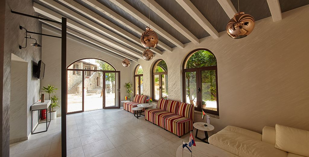 Ein neu erbautes Resort der gehobenen Klasse mit familienfreundlichen Einrichtungen