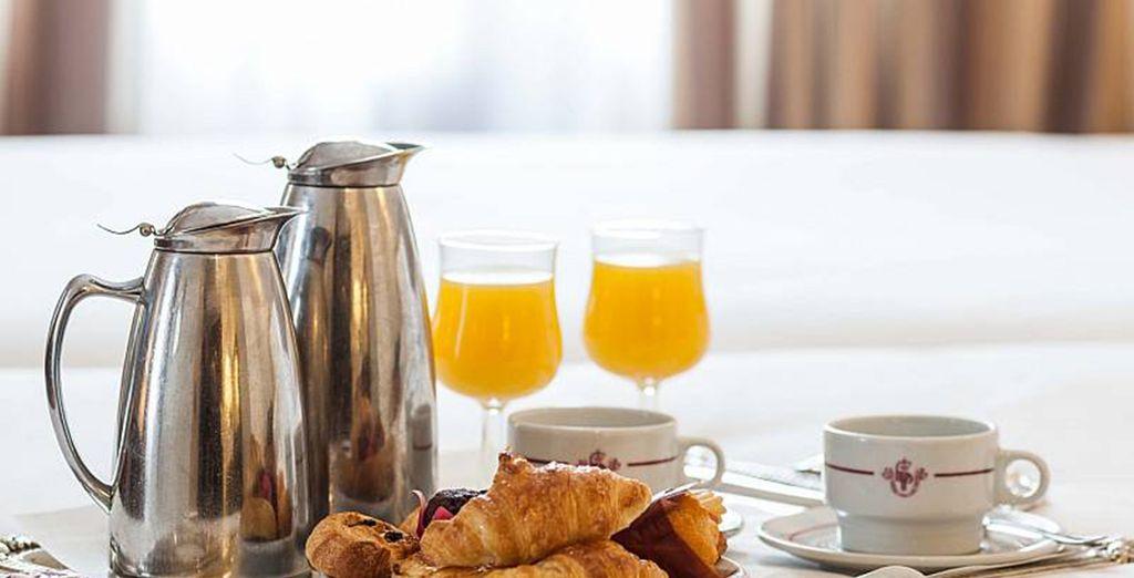 Genießen Sie jeden Morgen ein leckeres Frühstück