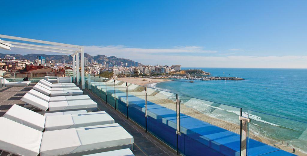 Willkommen in Benidorm im Hotel Villa del Mar 4*