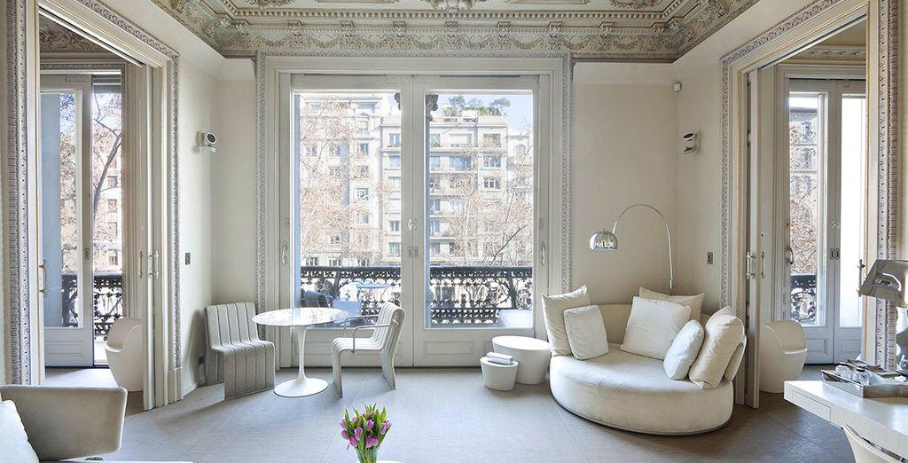 Entdecken Sie Ihre Design Suite im Herzen der Stadt...