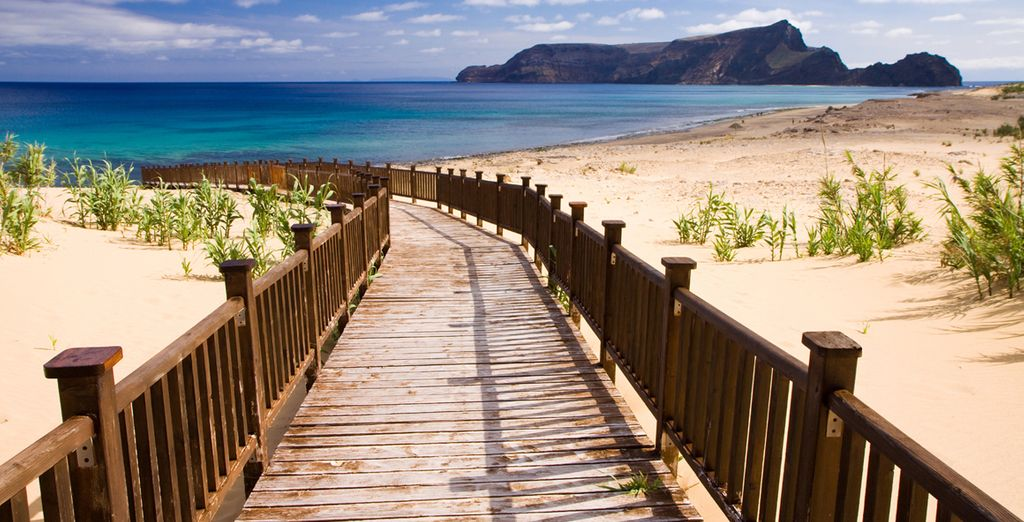 Genießen Sie die Strände von Madeira