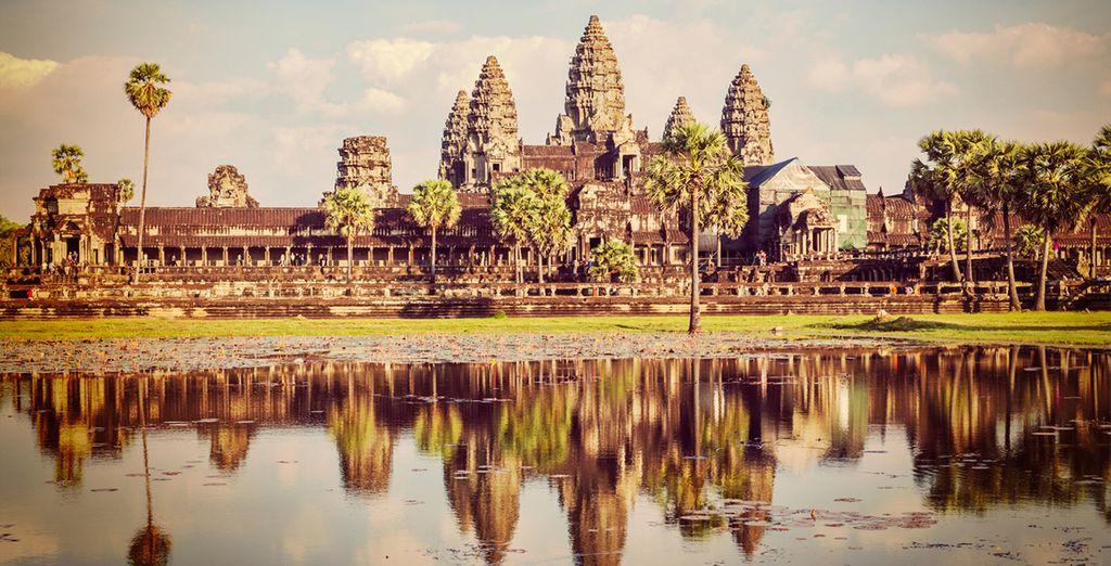 Angkor Wat, ein Zentrum der Kultur Kambodschas