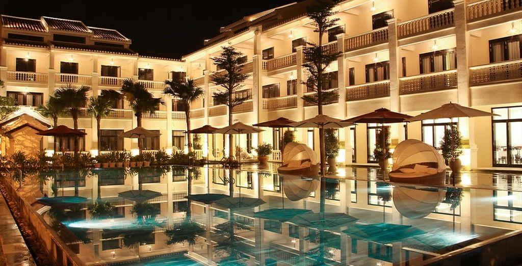 Das luxuriöse Thanh Binh Riverside Hotel 4*