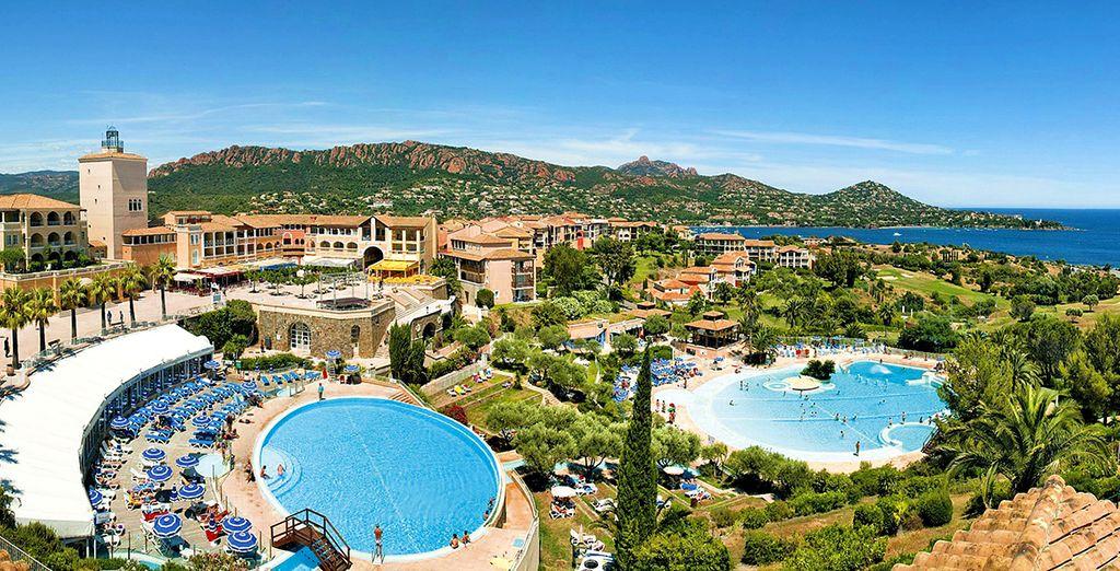 Willkommen im Village Pierre & Vacances Cap Esterel!