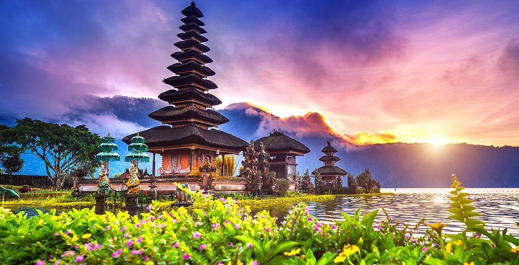Oder zum Tempel Ulun Danu...