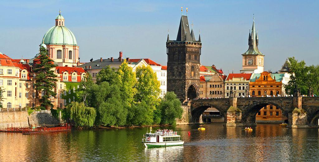 Ihre Reise beginnt oder endet in Prag - der Goldenen Stadt
