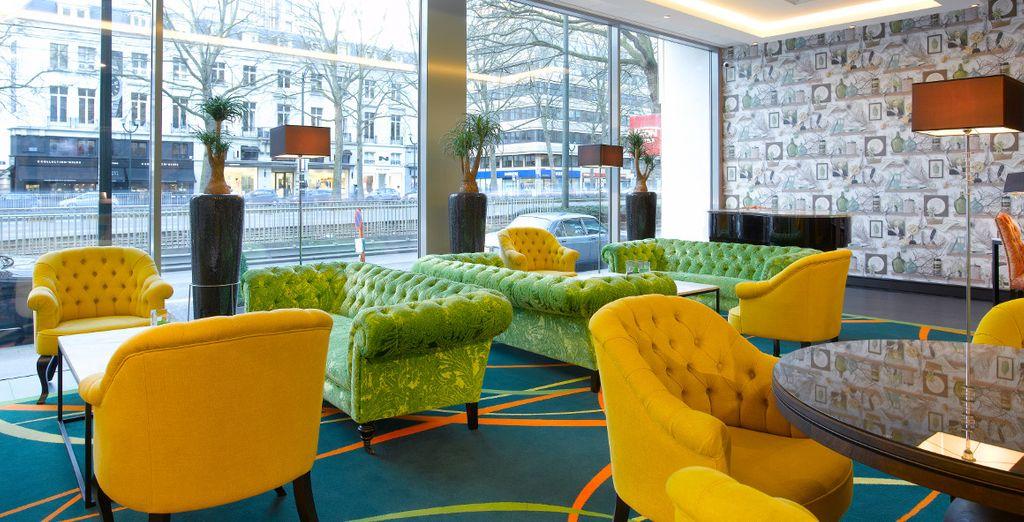 Entdecken Sie farbenfrohe Moderne & Design in der belgischen Hauptstadt!
