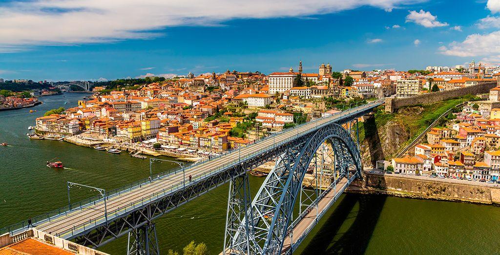 Wir wünschen Ihnen einen schönen Aufenthalt in Porto!