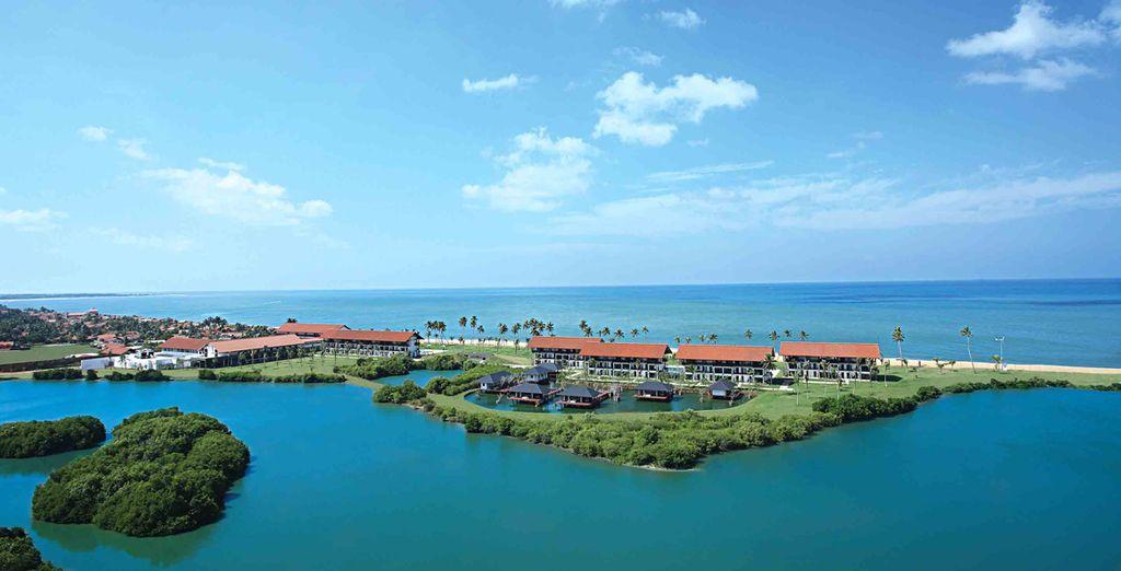 Ihre Reise endet in diesem wundervollen Resort in der wunderschönen Küstenstadt Chilaw