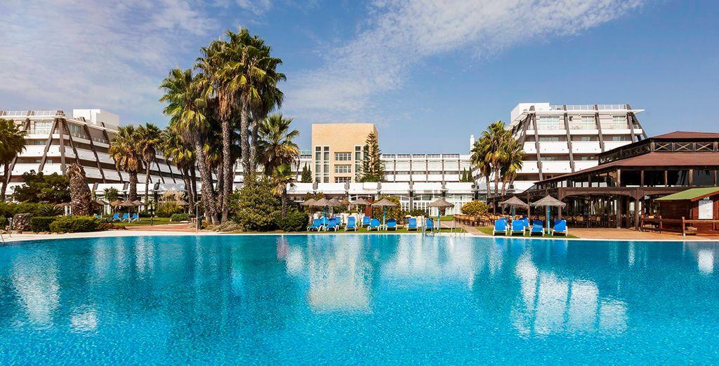 Willkommen im Ilunion Islantilla Hotels