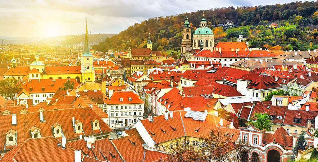 Erkunden Sie das schöne Prag!