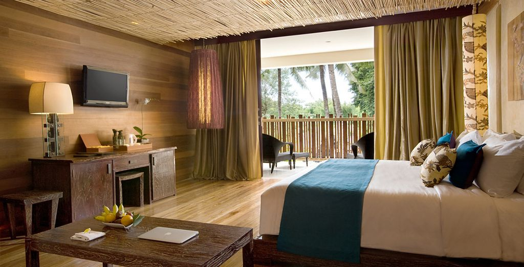 Für magische Nächt im Kupu Kupu Jimbaran 5* im Uluwatu Zimmer
