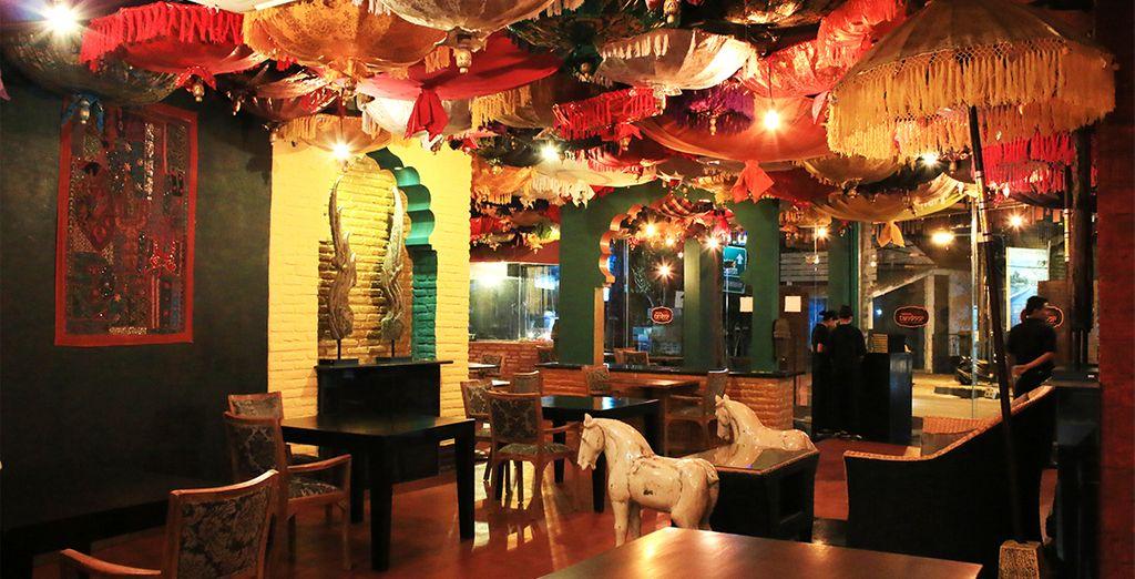 Entdecken Sie das indische Restaurant