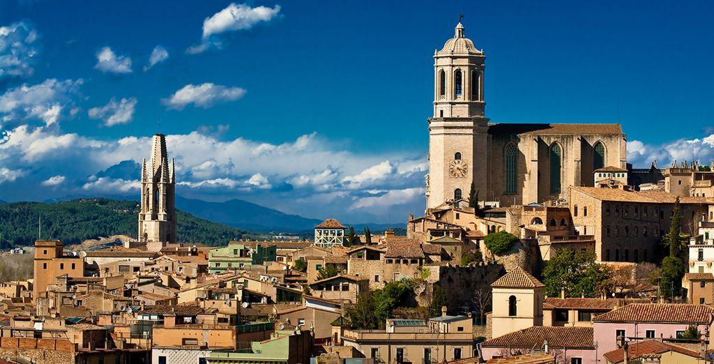Die Stadt Girona ist definitiv einen Besuch wert!